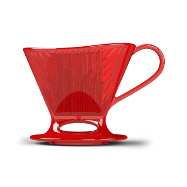 Signature Series Pour-Over™ Coffeemaker - Red, 1-Cup