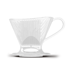Signature Series Shatter- Resistant Pour-Over™ Coffeemaker   - Clear, 1 Cup