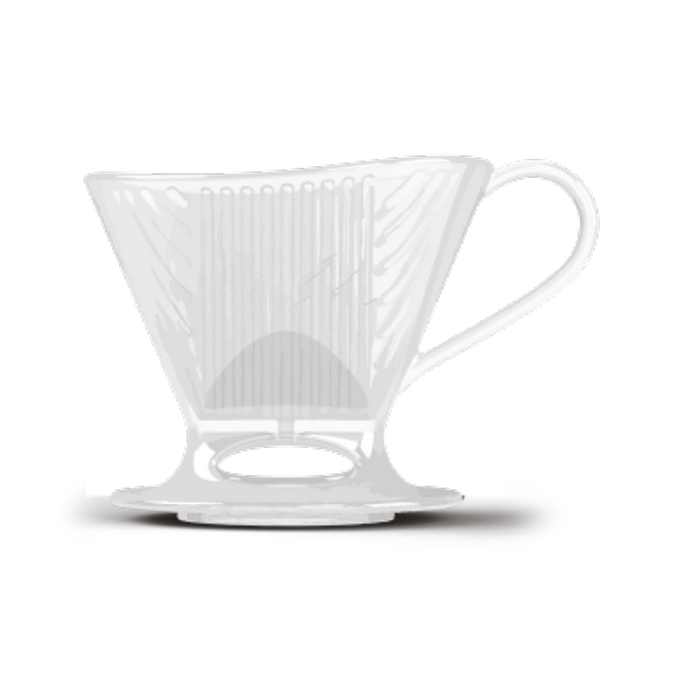 Infuseur à café Pour-Over<sup>MC</sup> série Signature - transparent, 1 tasse