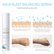 Ariul Facial Face Skin Serum Moisturizer, Aqua Blast Balancing Serum - Numerous Active Ingredients for Hydro Bonding!