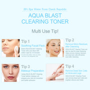 Ariul Facial Face Skin Toner Moisturizer, Aqua Blast Clearing Toner - Suggested Use Tips
