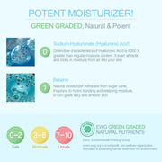 Ariul Facial Face Skin Toner Moisturizer, Aqua Blast Clearing Toner - EWG Green Graded Hyaluronic Acid and Betaine