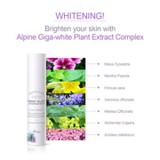 Ariul Facial Face Skin Serum Moisturizer, Berry Blast Brightening Serum - Alpine Giga-White Complex, France Ecocert Certified Organic