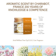 Ariul Organic Lecithin Facial Face Cream Moisturizer, Brilliant Tone Up E.G.G. Facial Cream - Aromatic Scent by Charabot, France