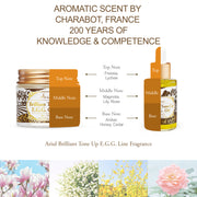 Ariul Organic Lecithin Facial Face Cream & Oil Moisturizer, Brilliant Tone Up E.G.G. Cream & Oil Bundle - Fragrance from Charabot, France. 200 Years of History and Competence