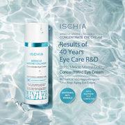 Ischia Best Anti-Wrinkle, Anti-Aging Eye Cream, Miracle Marine Collagen Concentrated Eye Cream