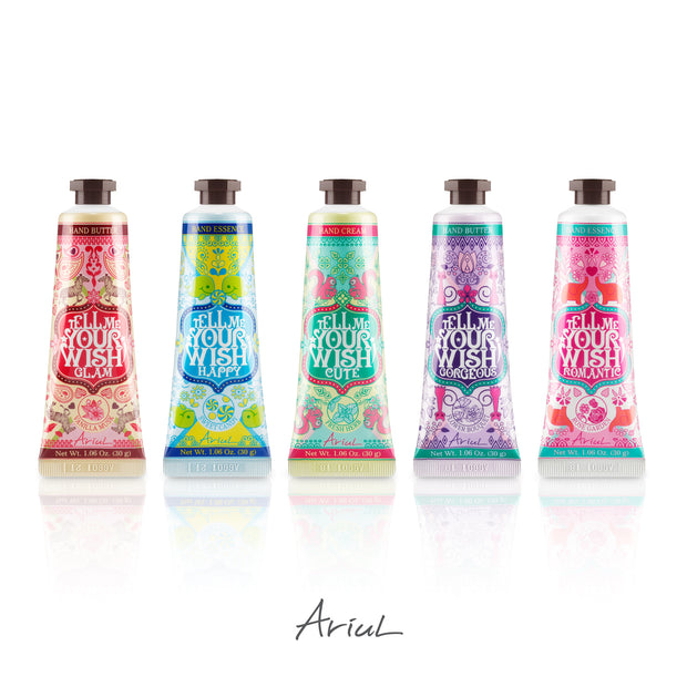 Ariul Natural Hand Cream Moisturizer Gift Box Set - Tell Me Your Wish Hand Cream, Butter, Essence