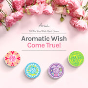 Ariul Natural Hand Cream Moisturizer - Tell Me Your Wish Rich, Lucky, Lovely, Pure, Cream & Butter Texture, Natural Dry Hand Relief