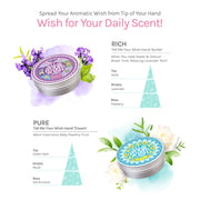 Ariul Natural Hand Cream Moisturizer - Tell Me Your Wish Rich Butter, Pure Cream, Natural Dry Hand Relief Nutrient