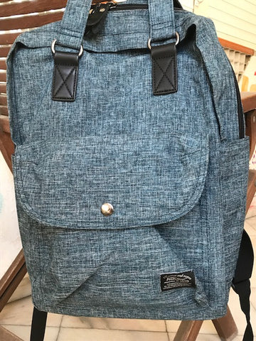 KAUKKO Oxford Premium Blue Backpack (SB1995)