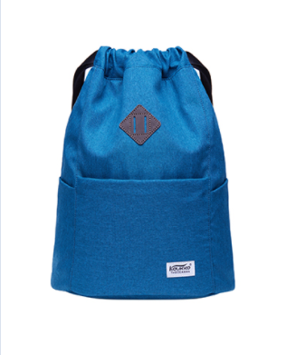 KAUKKO Platinum Blue Drawstring Bag (PLT11)