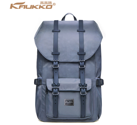KAUKKO Platinum Gray Backpack (PLT8)