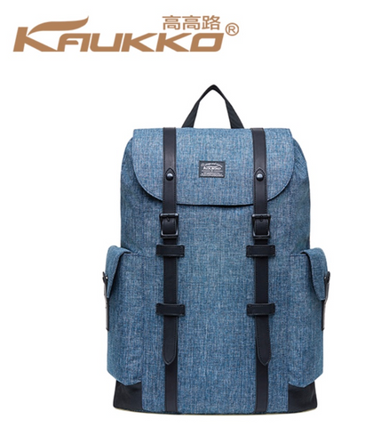 KAUKKO 30L Waterproof Premium British Blue Backpack (SB9981)