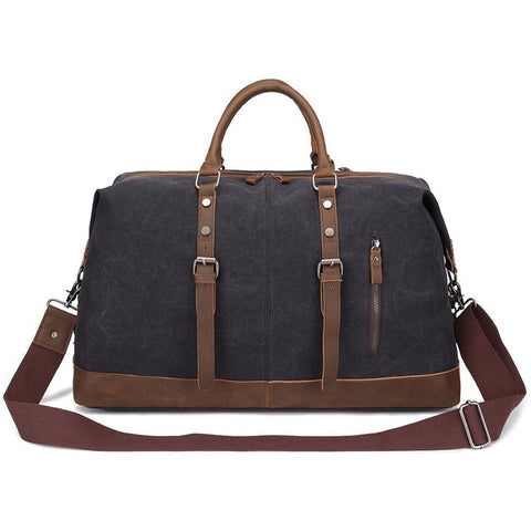 KAUKKO Canvas Dark Gray Duffel Bag (SB2013) , KAUKKO SB2013
