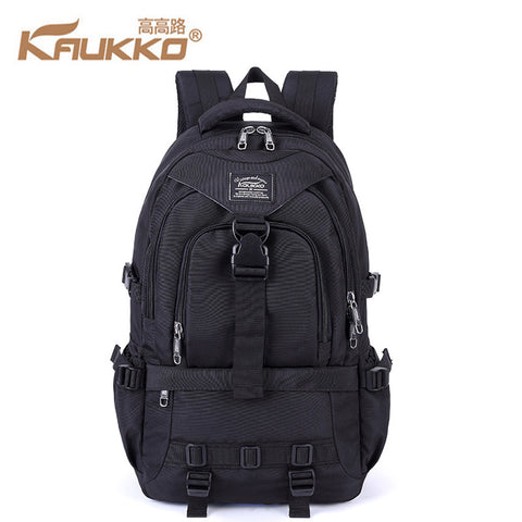 KAUKKO 30L Waterproof Premium Black Backpack (SB9963) , KAUKKO SB9963