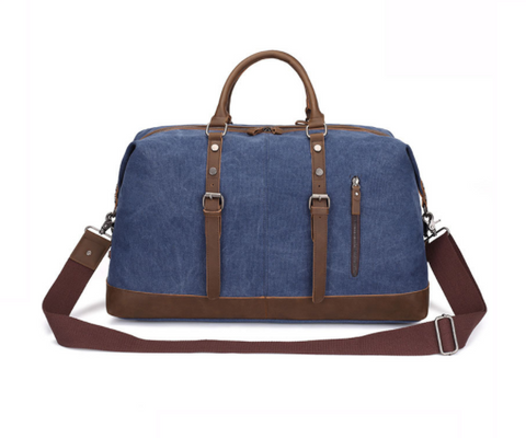 KAUKKO Canvas Dark Blue Duffel Bag (SB2021) , KAUKKO SB2021