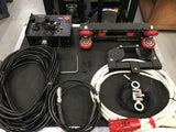Two Axis Performer Flying System (Lift and linear track) for sale on Stage Dealer