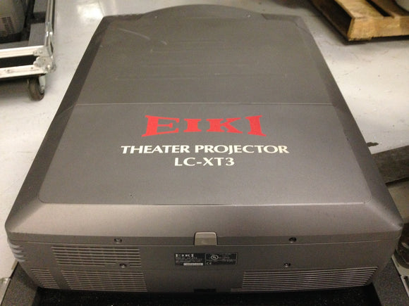 Used EIKI LC-XT3 10K Lumen Digital Projector - Serial Number G35A1433
