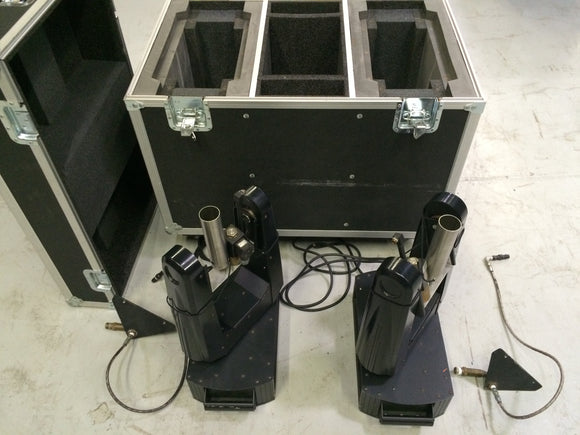 CryoJet Moving Head CO2 Special Effects Units - Used (set of 2 units)