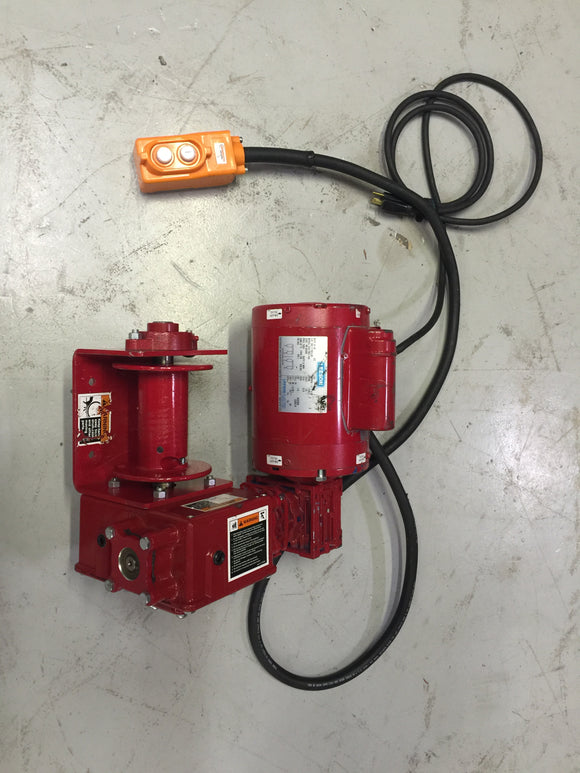Thern Wire Rope Winch Model 4WP2