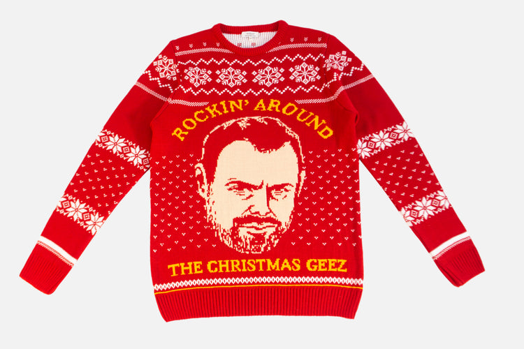 Danny Dyer Christmas Jumper - Christmas, Geez