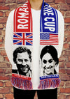 Romance of the Cup: The Royal Wedding Football Scarf