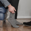 Stand4Socks - Homeless Grey Twisted Cotton Sock