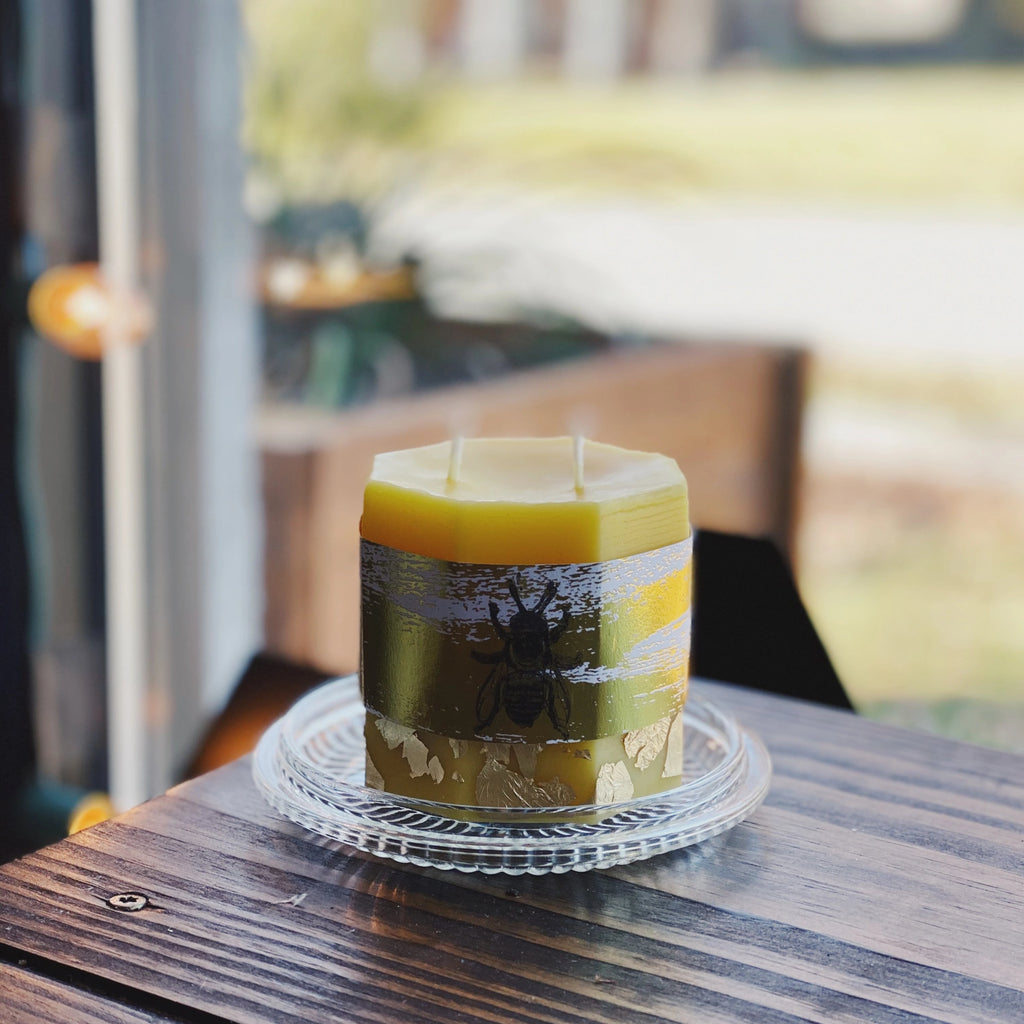 Beeswax Candle