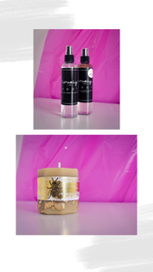 Facial Mist & Beeswax Candle