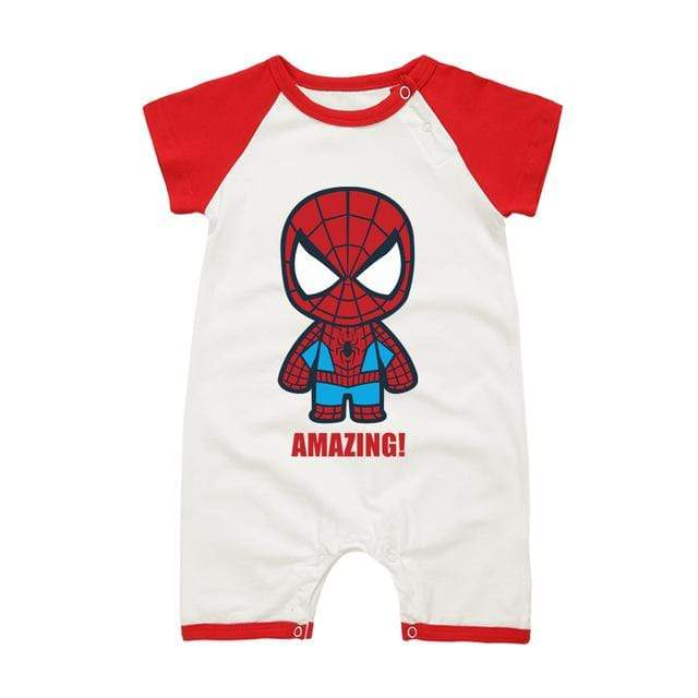 Body Avengers manches courtes - Mon Little Baby