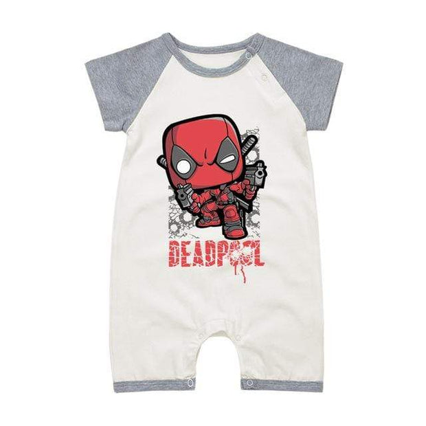 Body Deadpool Manches courtes - Mon Little Baby