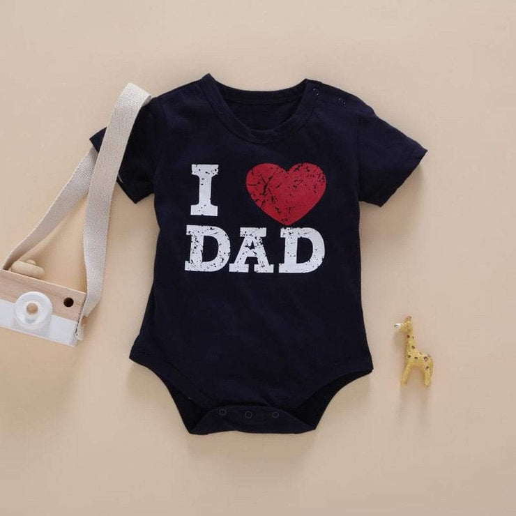 "Body ""I love Dad/Mom"" - Mon Little Baby"