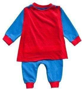 Body Superman avec cape - Mon Little Baby