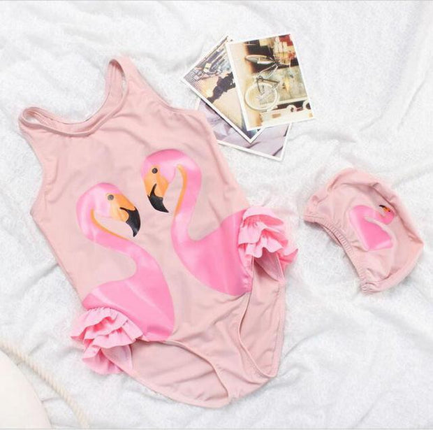 Maillot de bain Flamant Rose - Mon Little Baby