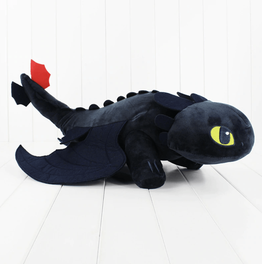 Peluche Dragon Krokmou Toothless - Mon Little Baby