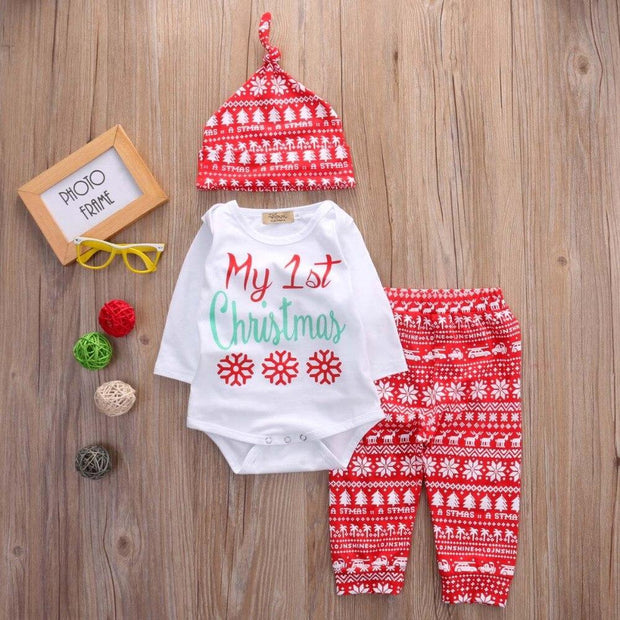 Tenue My First Christmas - Mon Little Baby
