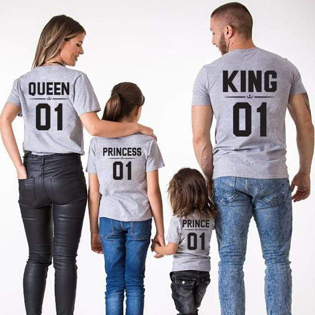 Tenues Assorties Famille King | Queen | Prince | Princess - Mon Little Baby