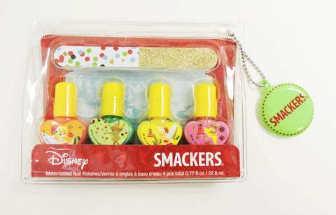 Disney - Smackers Nail Polish With Nail File Set