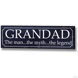 Grandad Plaque - LUXE Home Interior
