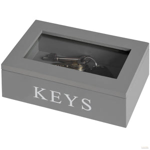 Keys box With Glass Lid - LUXE Home Interiors