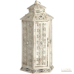 Lantern table lamp - LUXE Home Interiors