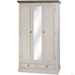 The Studley Collection 2 Drawer 2 Door Wardrobe