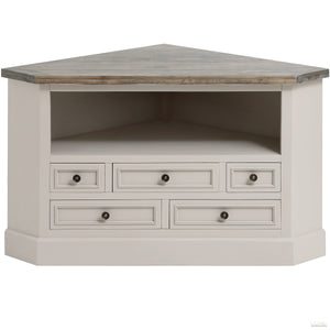 The Studley Collection Corner TV Unit - LUXE Home Interiors