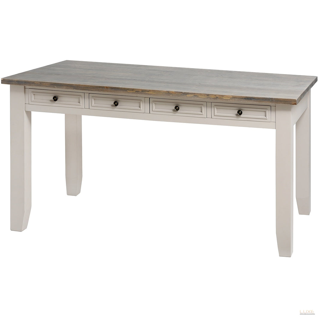 The Studley Collection Eight Drawer Country Dining Table - LUXE Home Interiors