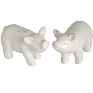 Set of 2 Salt and Pepper Pigs - LUXE Home Interiors