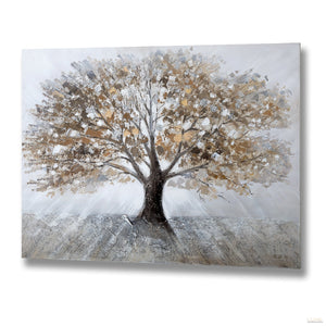 Winter Tree Oil Painting