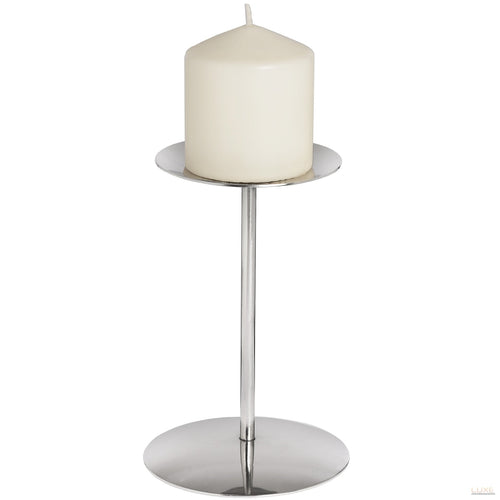 Nickel Candle Stand - LUXE Home Interiors