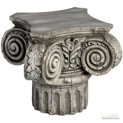 Roman Architectural Ruin Candle Holder - LUXE Home Interiors