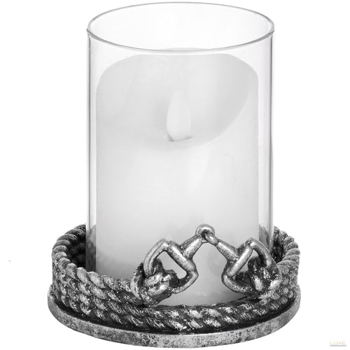 Intricate Stirrup Detailed Candle Holder - LUXE Home Interiors