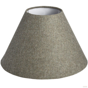 Heath Yorkshire Tweed Large Shade - LUXE Home Interiors